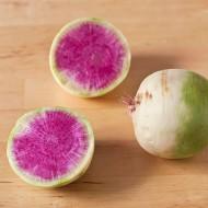 Il ravanello pompelmo, verdura dal gusto delicato e colori stupefacenti