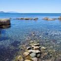 Foto del mare al porticciolo di Piombino