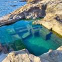 Foto di piscina romana a Calafuria