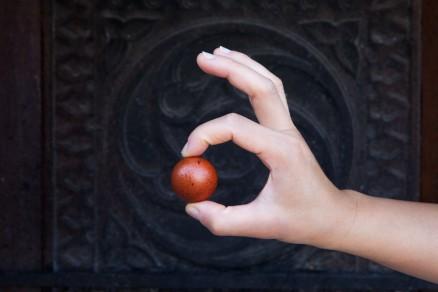 Foto di un uovo di Marans