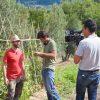 La7 viene a filmare le verdure antiche di Poggio Diavolino